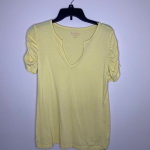Lily Pulitzer yellow top